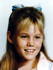 A photo of Jaycee Dugard, before she was kidnapped.