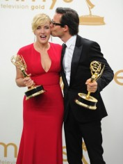 Happy Emmy! Kate Winslet and Guy Pearce