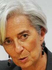 IMF Chief Christine Legarde