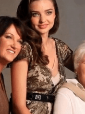 Miranda Kerr and family