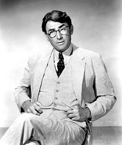 Gregory Peck as Atticus Finch Gregory Peck as Atticus Finch