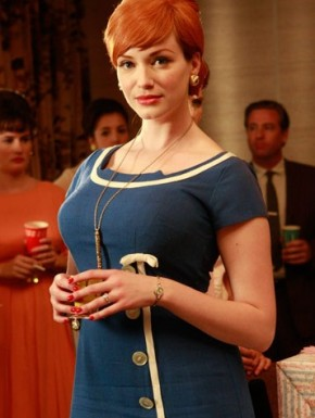 joan holloway mad men style 290x385 Christina Hendricks