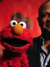 Elmo with Kevin Clash