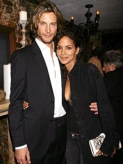 Halle Berry with her ex