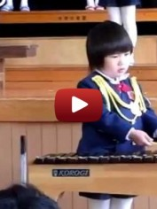 chinese girl xylophone youtube screenshot