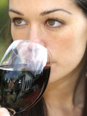 Young-woman-drinking-a-gl-002