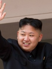 Supreme leader of North Korea, Kim Jong-un.