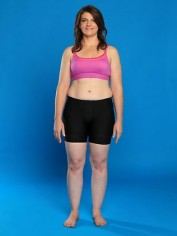 melanie ward average woman weight