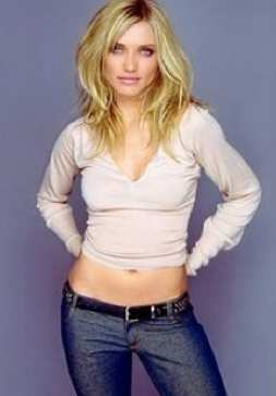 Cameron Diaz Cameron Diaz has been photoshopped to look fatter. Because thats where the fashion industry is at now.