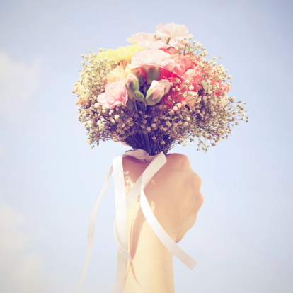 bouquet wedding Memo to brides: Get over yourselves. Its not just your day.