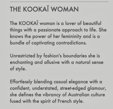 thekookaiwoman 380x367 Unlike the Heart Foundations BMI calculator, clothing store Kookai thinks Im fat.