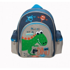 Sac à dos maternelle Dino Monsters