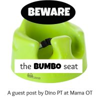 Beware the Baby Bumbo Seat