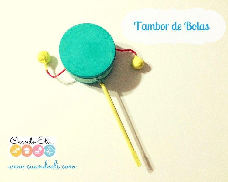 Tambor de bolas (Tambor Sonajero)
