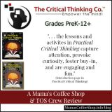 {Curriculum Review} Practical Critical Thinking Grades 9-12+ from The Critical Thinking Co.