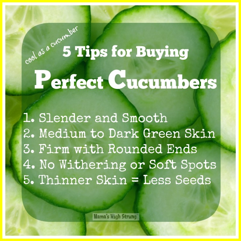 Large Of When To Pick Cucumbers