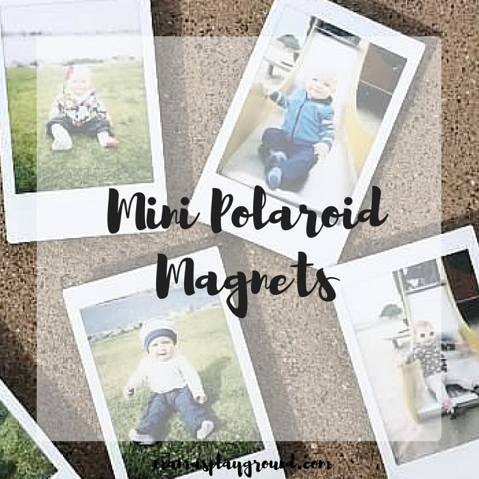 Mini Polaroid Magnets Insta