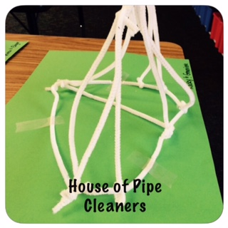 House of pipe cleaners