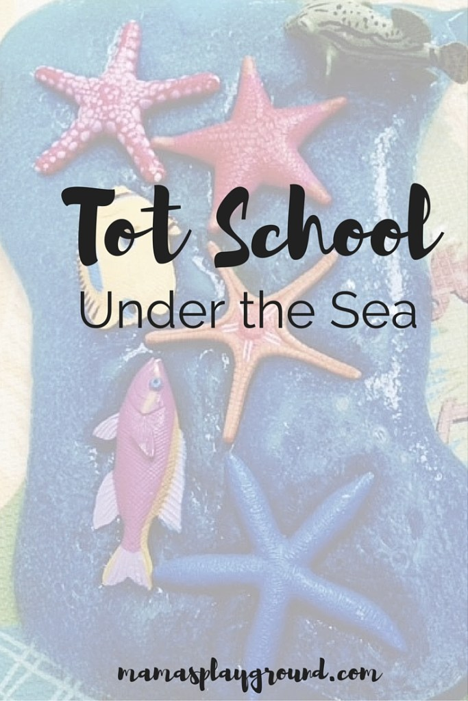 Tot School Under the Sea