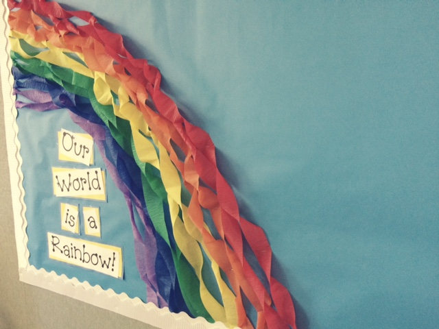 Bulletin Board Rainbow 2