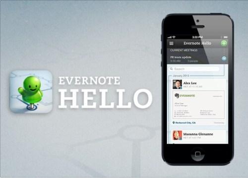 evernote hello