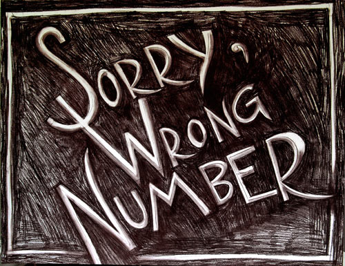 Wrong-number