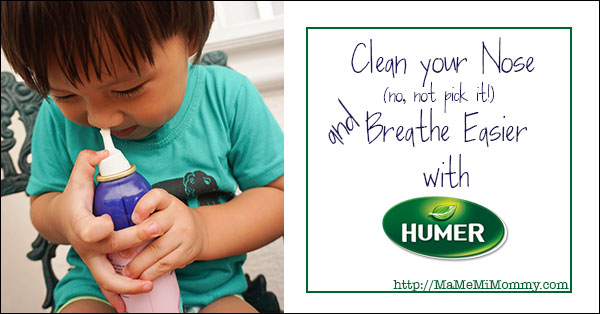 Clean Your Nose and Breathe Easier with Humer