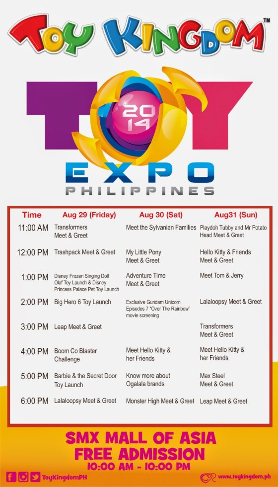 Toy Kingdom Toy Expo Philippines 2014 Stage Activities