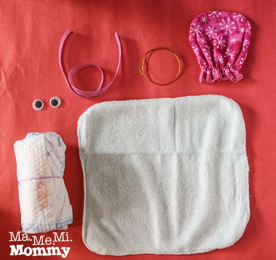 Diaper Dolls Materials