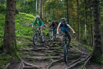 Mountainbiking in Tirol mit Mountain Edge