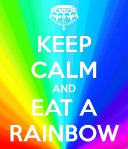 Eat a rainbow, yo