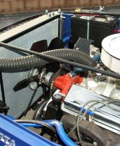 Man-A-Fre Custom V-8 Radiator 4-Plus Mount 2