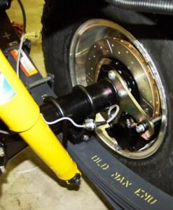 Rear Disc Brake Conversion Kit -Early-7-1980 1