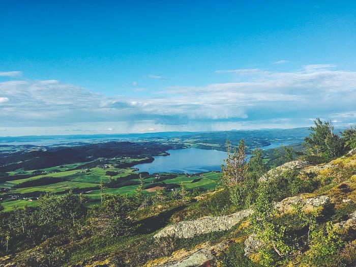 Beautiful view from Stokkvola
