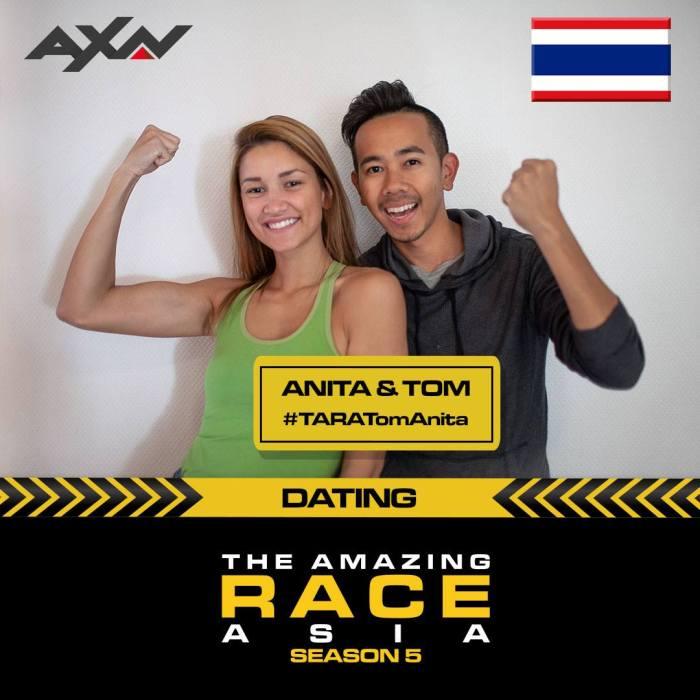 Team Thailand The Amazing race Asia season 5