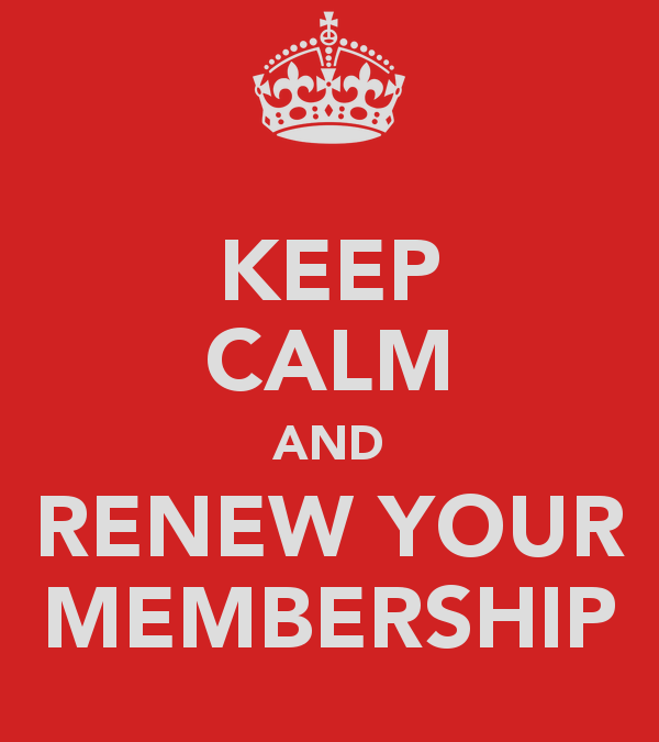 Renewing your Membership – What's in it for you?