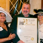 Residents flank our featured guest, Assemblyman Danny O'Donnell