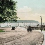 Riverside Drive around the time The Manchester was constructed. Photo courtesy Morningside-heights.net.
