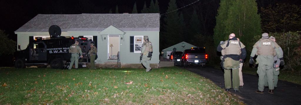 Police: Man suspected in Pine Street shooting took own life after SWAT arrival