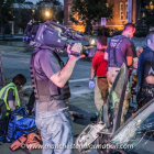 COPS film crew on the beat in Manchester, NH.