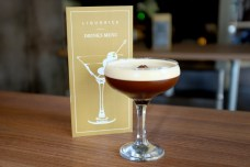Coffee Cocktail at Liquorice Bar Manchester