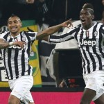 Arturo Vidal and Paul Pogba