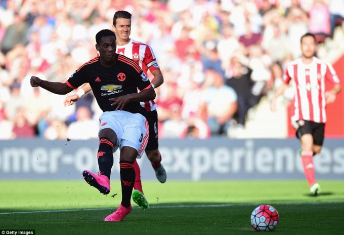 Getty Images Martial 2goal