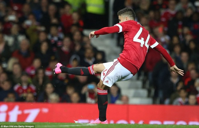 Man Utd via Getty Images Pereira goal