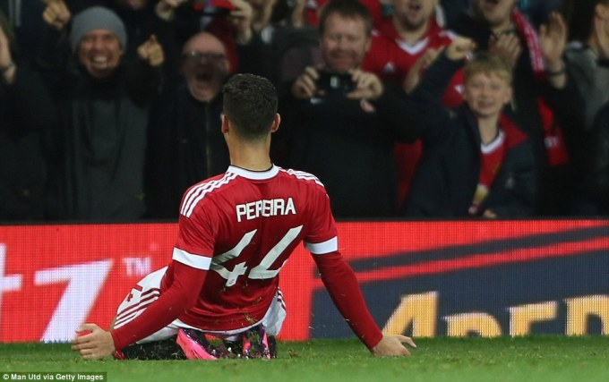 Man Utd via Getty Images Pereira goal2