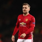 MANCHESTER, ENGLAND - OCTOBER 20:  Luke Shaw of Manchester United in action during the UEFA Europa League match between Manchester United FC and Fenerbahce SK at Old Trafford on October 20, 2016 in Manchester, England.  (Photo by James Baylis - AMA/Getty Images)