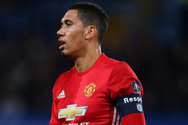 Manchester United star Chris Smalling 623117