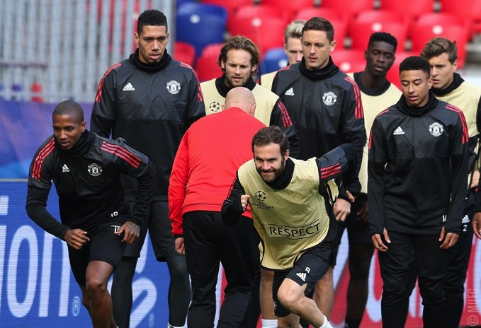 Gallery United train ahead of CSKA clash 02