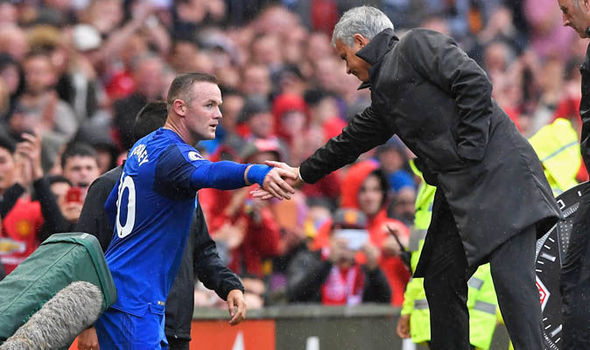 Jose Mourinho was not surprised by the reception Wayne Rooney got 855398