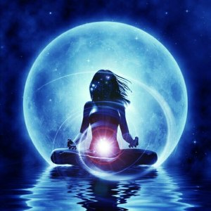 луна и женщина1